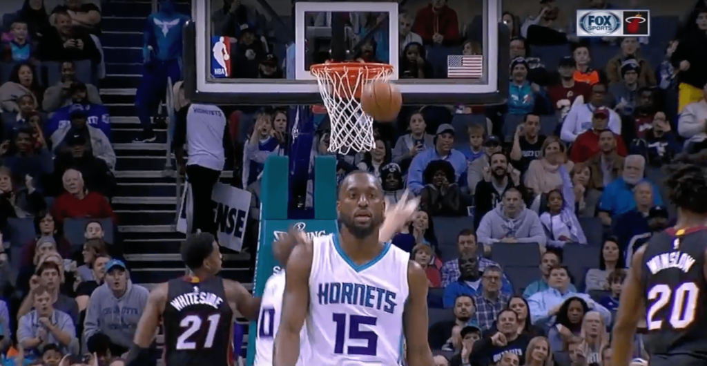Kemba Walker rejoint Nick Young dans la légende du fail