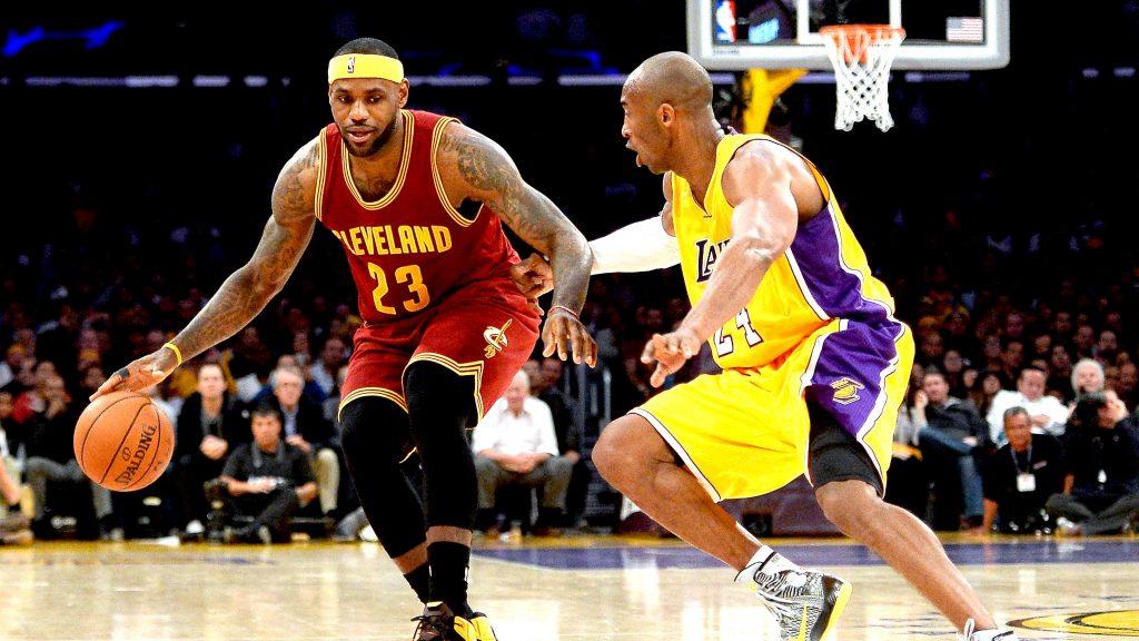 Kobe Bryant defense LeBron James