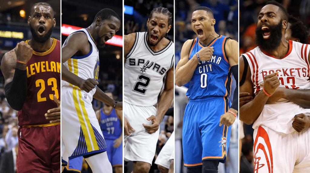 NBA pour le trophée MVP 2016-2017