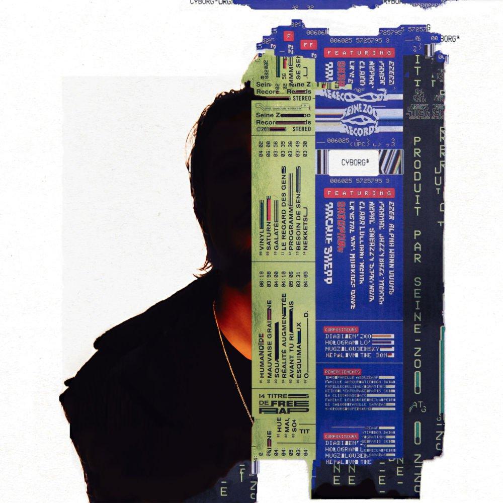 Nekfeu sort le très bon album surprise Cyborg pendant son Bercy