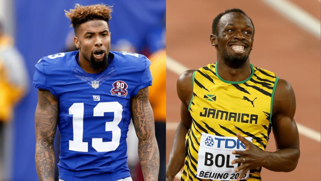 Odell Beckham Jr. veut courir avec Usain Bolt