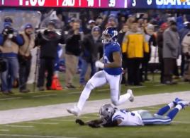 Odell Beckham permet aux Giants de faire tomber les Cowboys