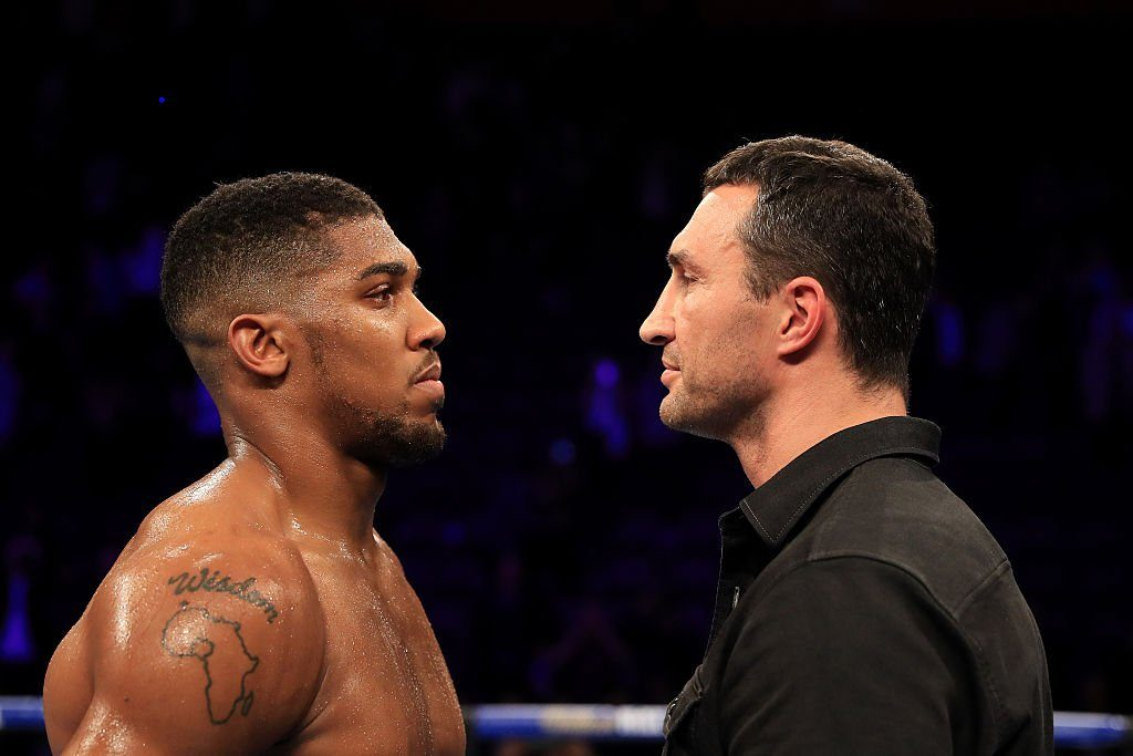 Officiel - Anthony Joshua vs. Wladimir Klitschko le 29 avril a Wembley