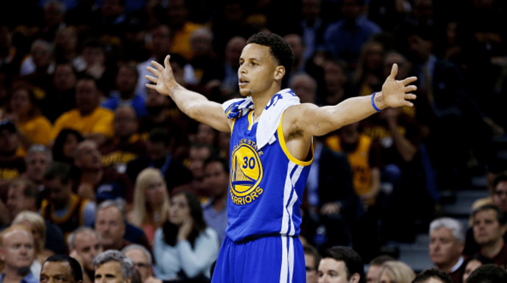 Stephen Curry contrat