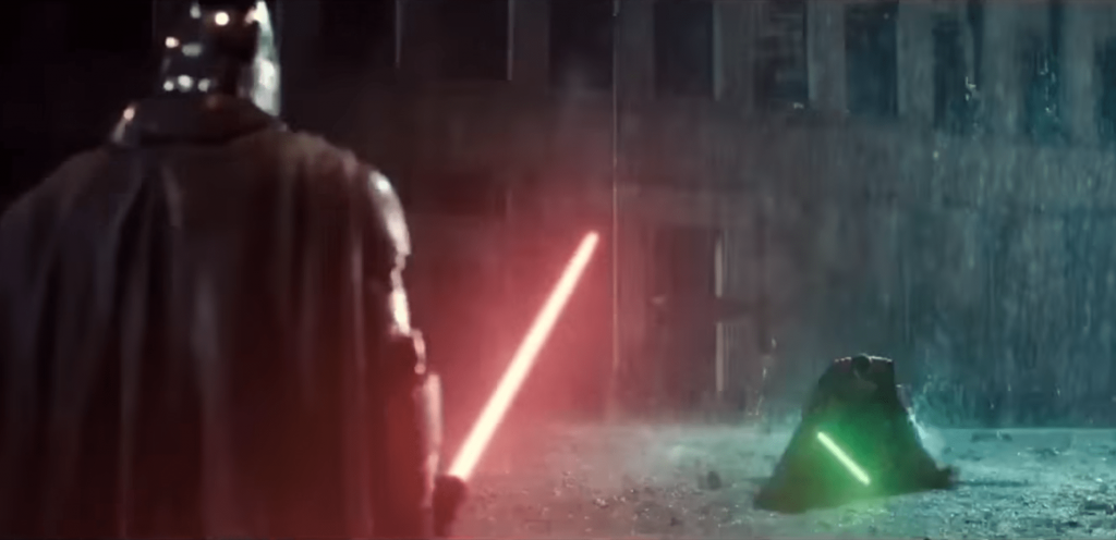 Zack Snyder sort un improbable mashup Batman v Superman x Star Wars