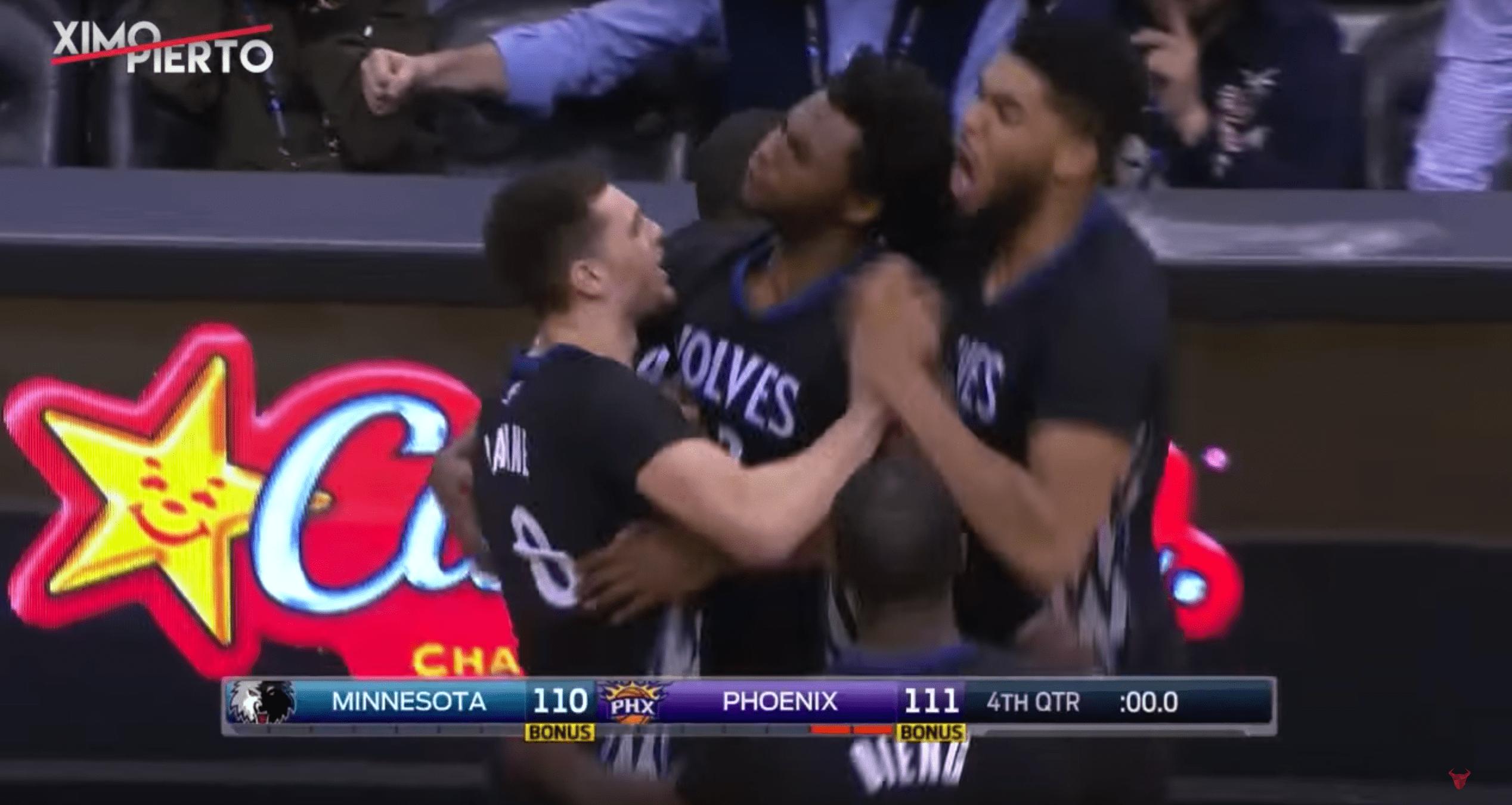 Andrew Wiggins abat les Phoenix Suns au buzzer
