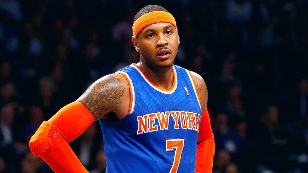 Carmelo Anthony et son inexorable chute