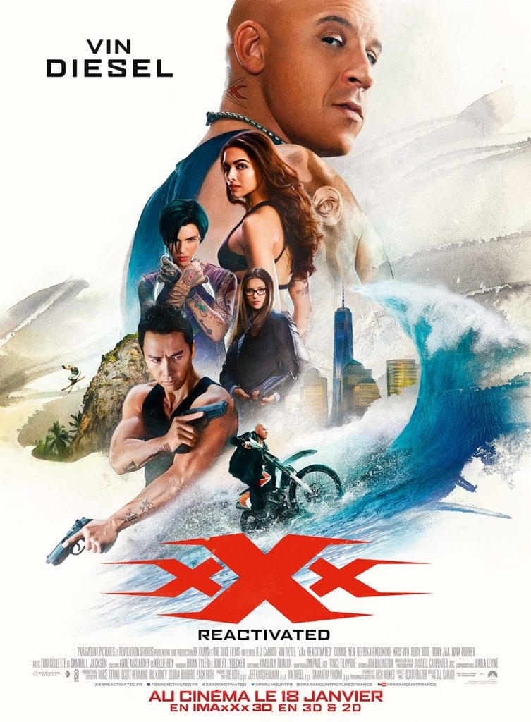 Concours xXx REACTIVATED - Poster
