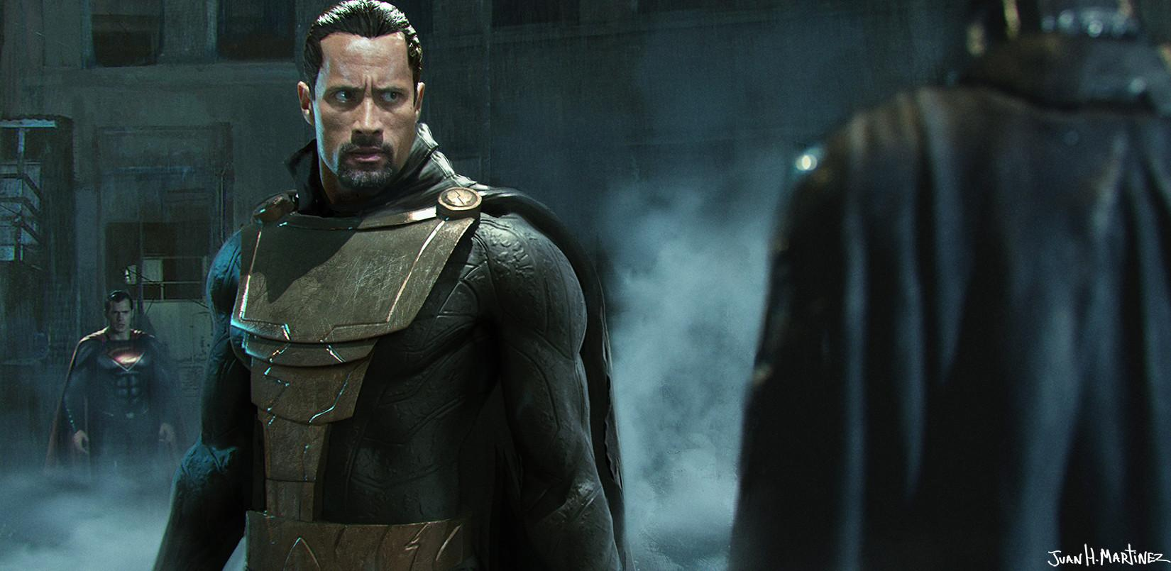 Shazam - Dwayne Johnson en Black Adam va avoir son propre film !