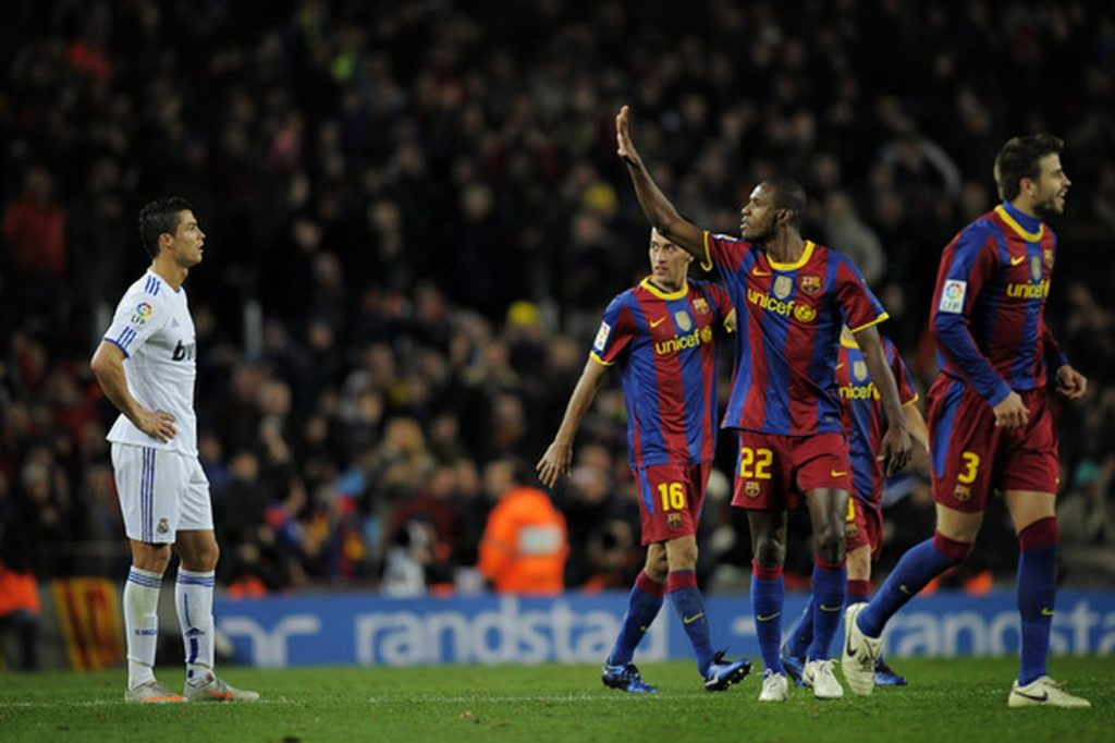 La Manita du Clasico 2010 entre le Real Madrid et le FC Barcelone