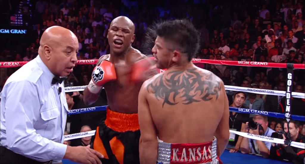 Floyd Mayweather et son KO de la honte sur Victor Ortiz