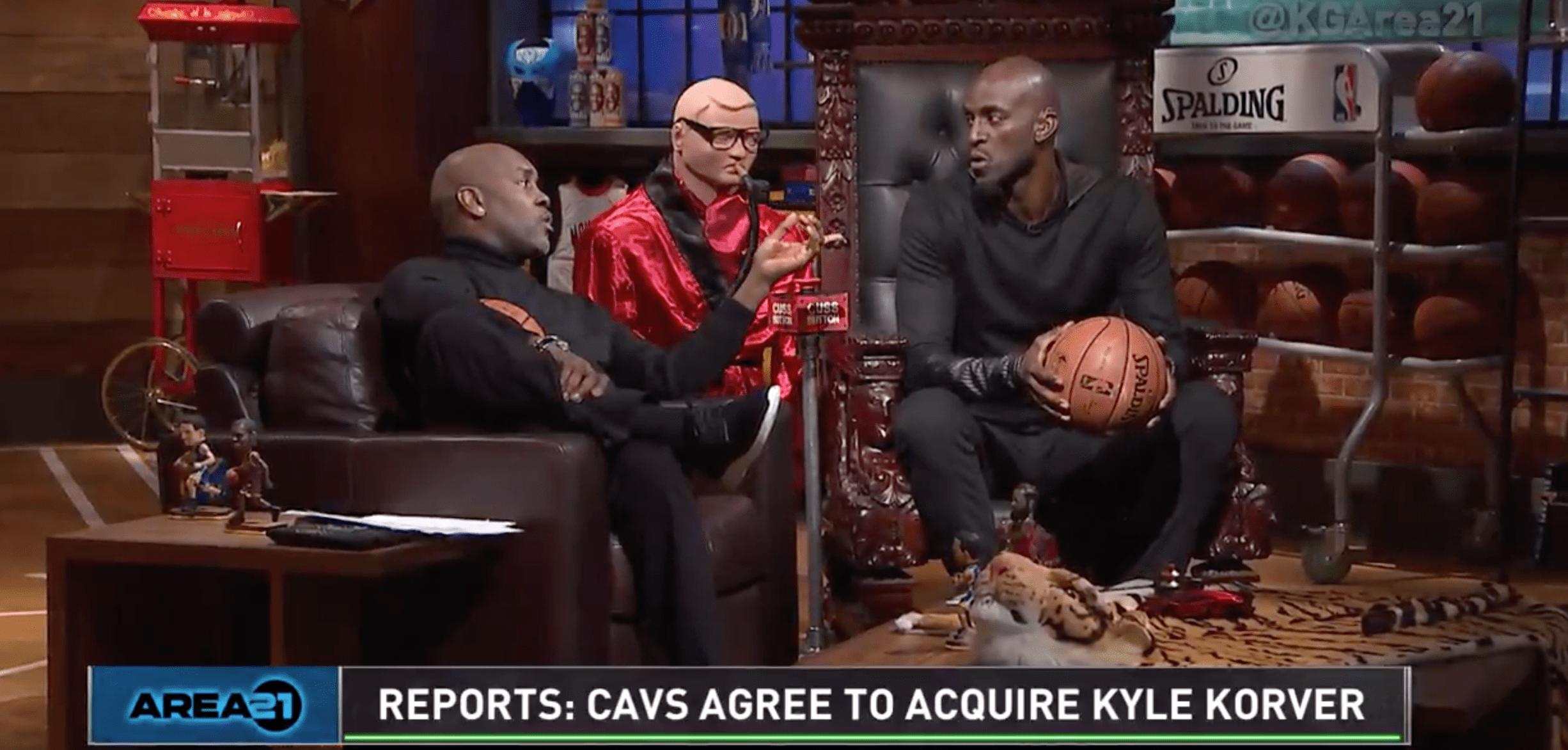 Gary Payton et Kevin Garnett réagissent au transfert Kyle Korver