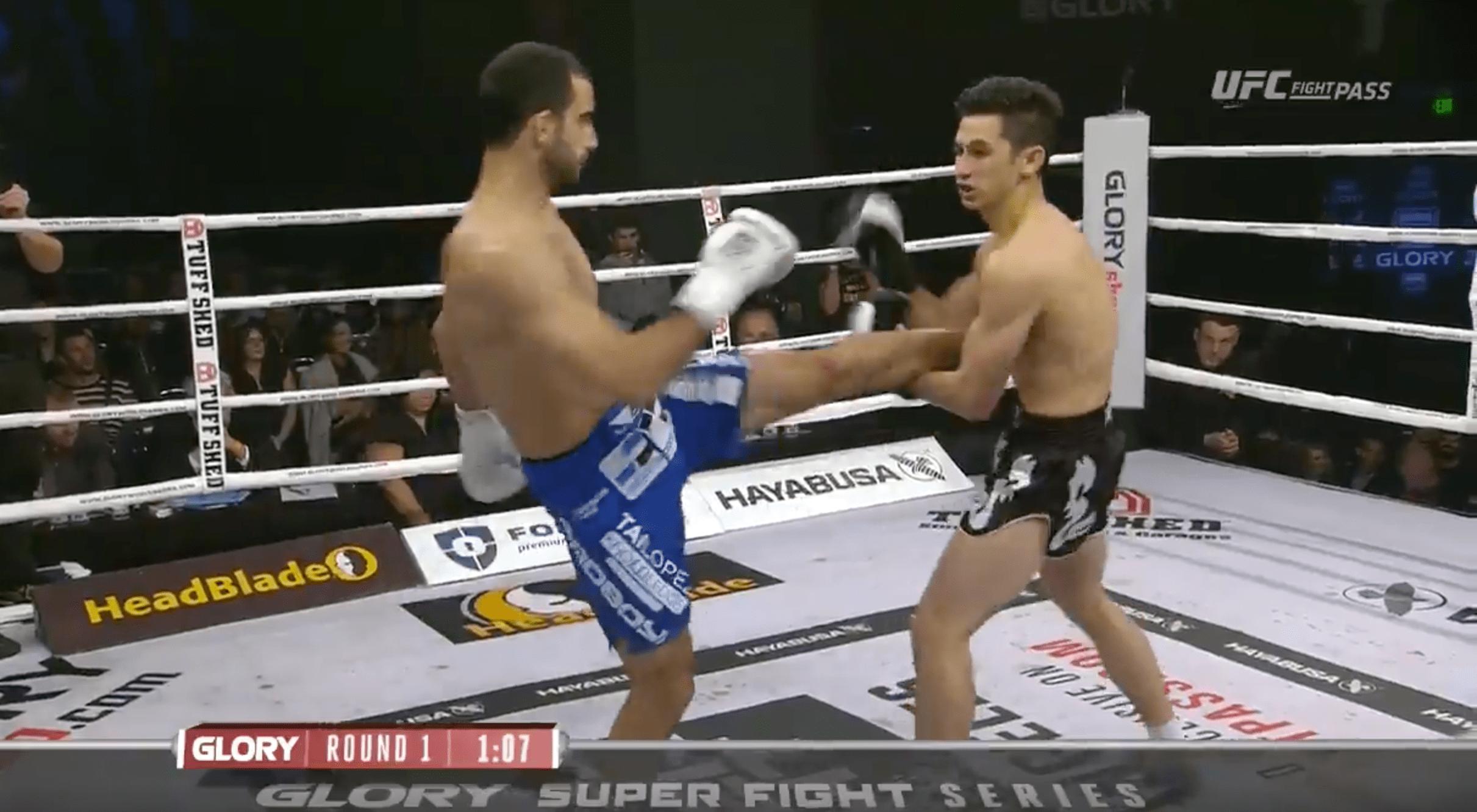 Glory 37 – Giga Chikadze inflige un très gros KO à Victor Pinto