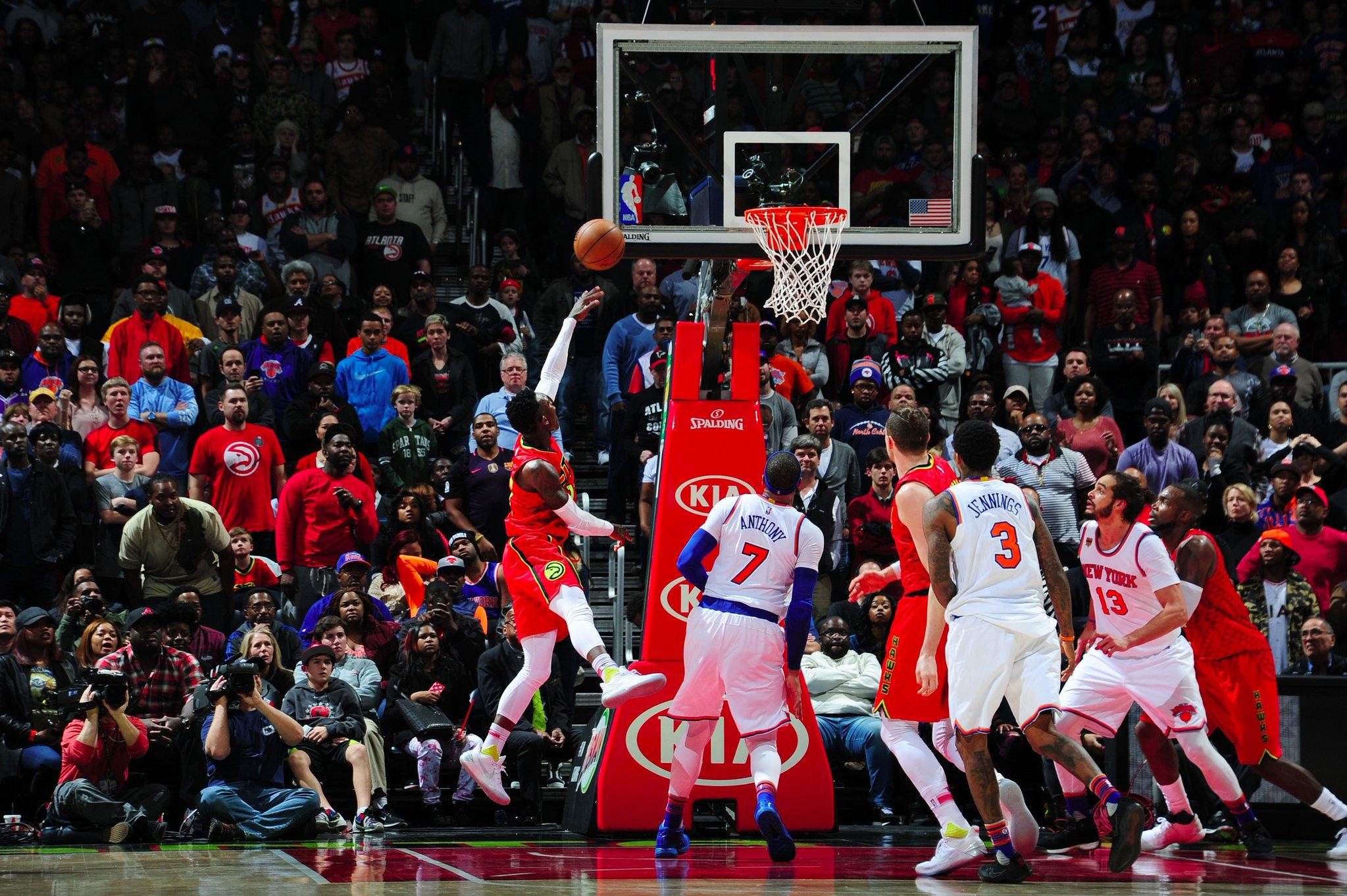Hawks vs. Knicks – Quatre overtime pour le match de l'année et 68 minutes de jeu!