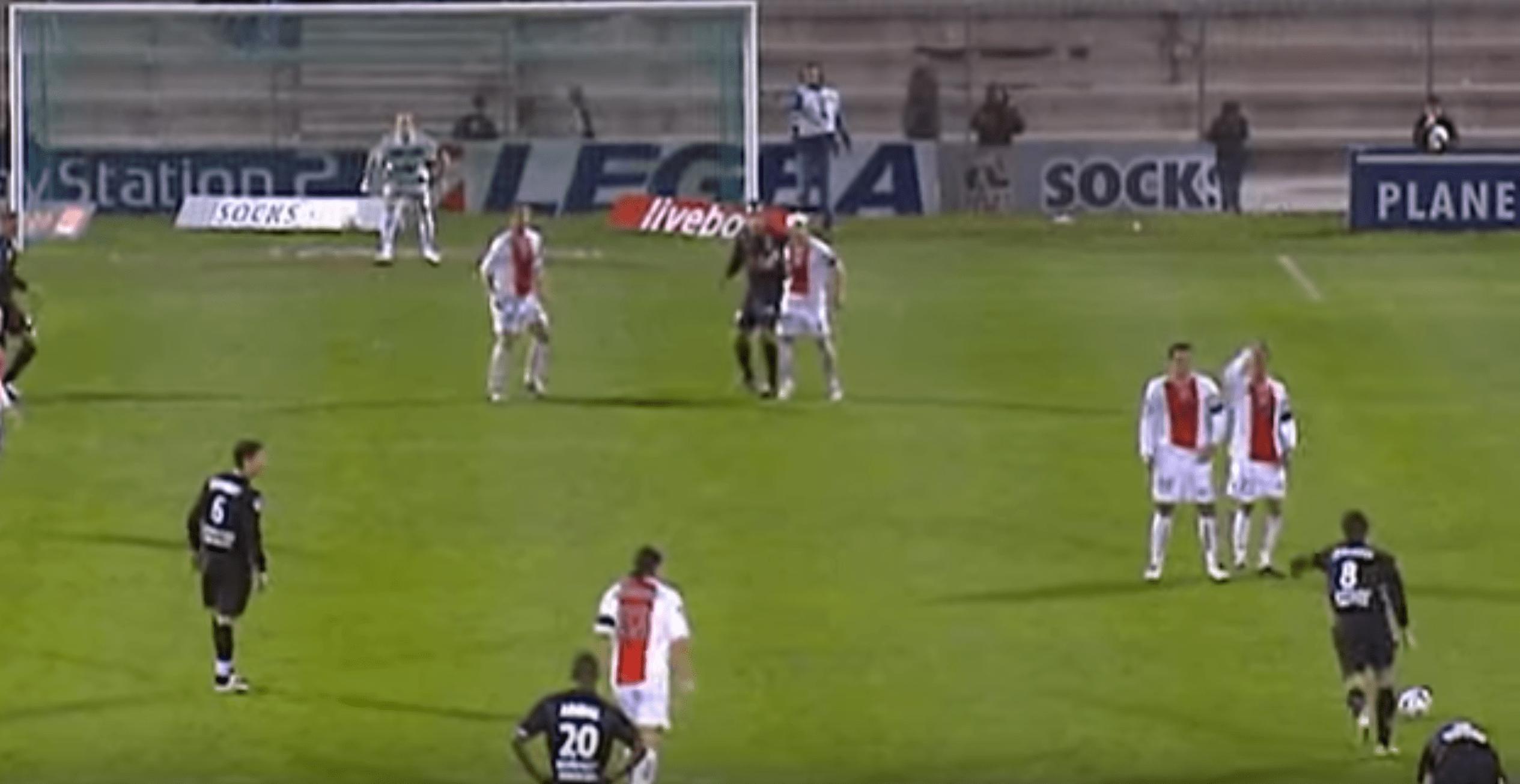 Le coup de Franc de légende de Juninho Pernambucano contre Ajaccio