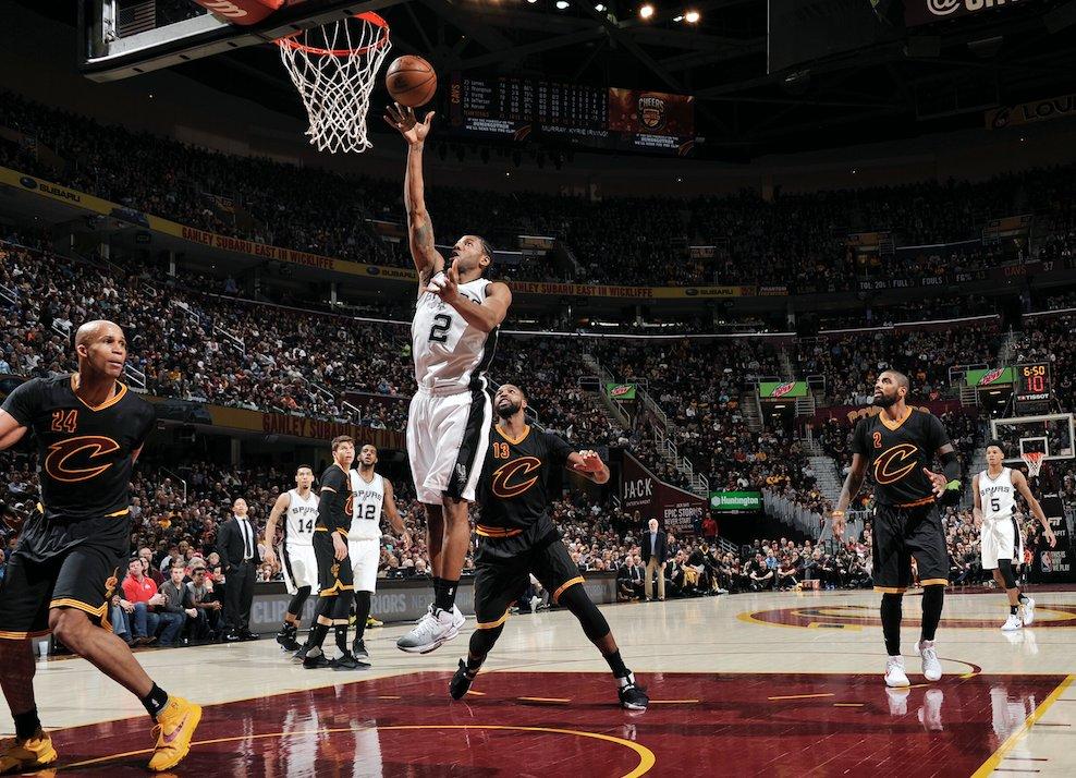 En overtime, les Spurs s'imposent face aux Cavaliers!