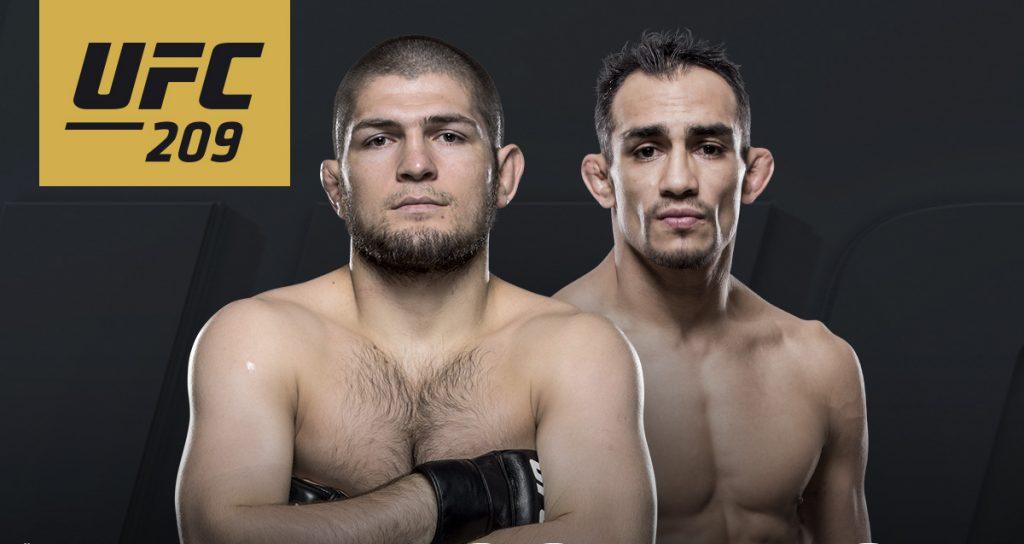 Officiel - Khabib Nurmagomedov vs. Tony Ferguson à l'UFC 209