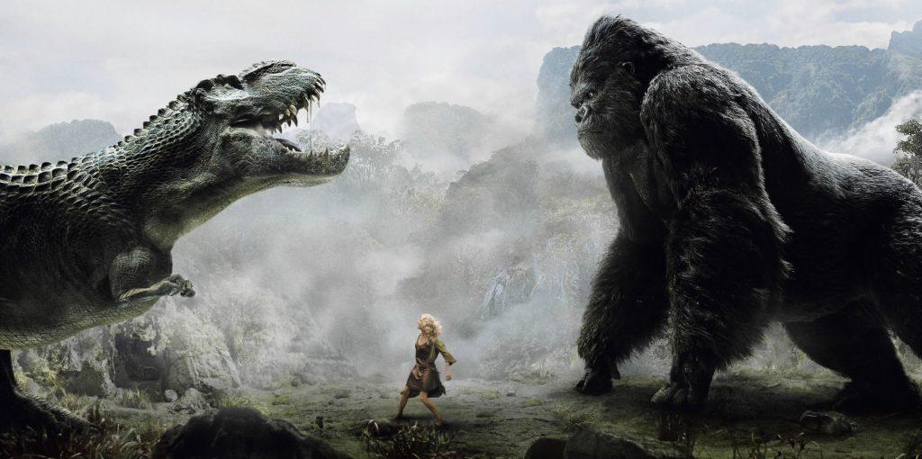 La bataille entre King Kong et les Vastatosaurus en 4K