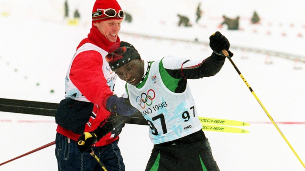 Philip Boit, un Kényan aux Jeux Olympiques d'hiver de Nagano