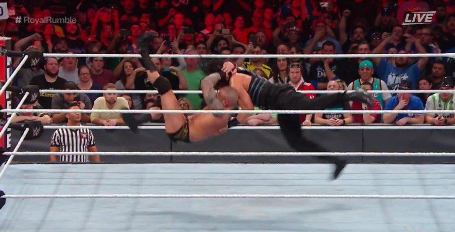 Randy Orton remporte le Royal Rumble 2017 et John Cena Champion du Monde