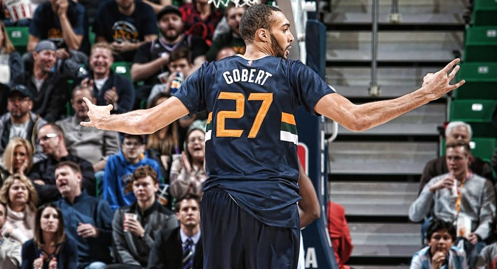 Rudy Gobert en mode Gobzilla face au Orlando Magic