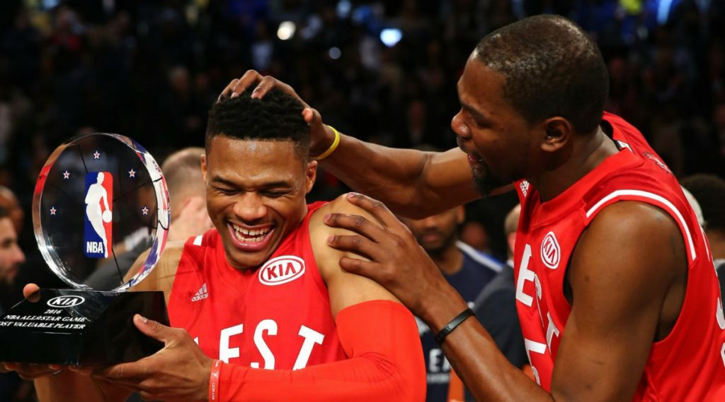 All-Star Game – Westbrook pourrait se retrouver avec 4 Warriors sur le parquet