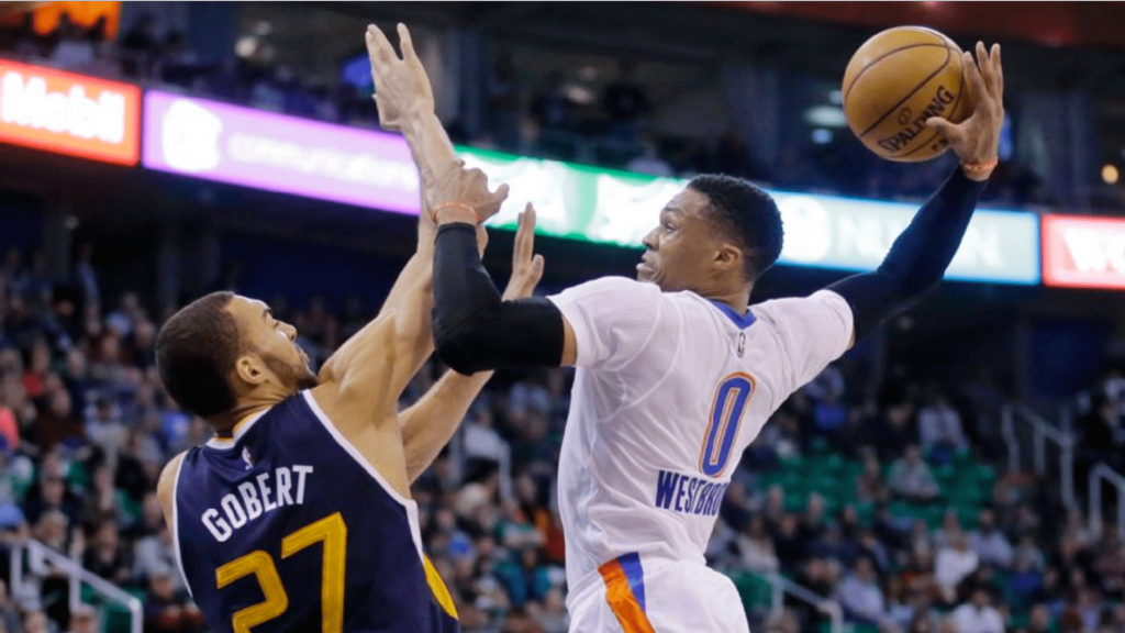 Russell Westbrook fait la totale au Utah Jazz à Salt Lake City