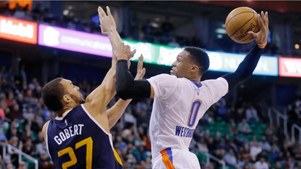 Russell Westbrook fait la totale au Utah Jazz à Salt Lake City