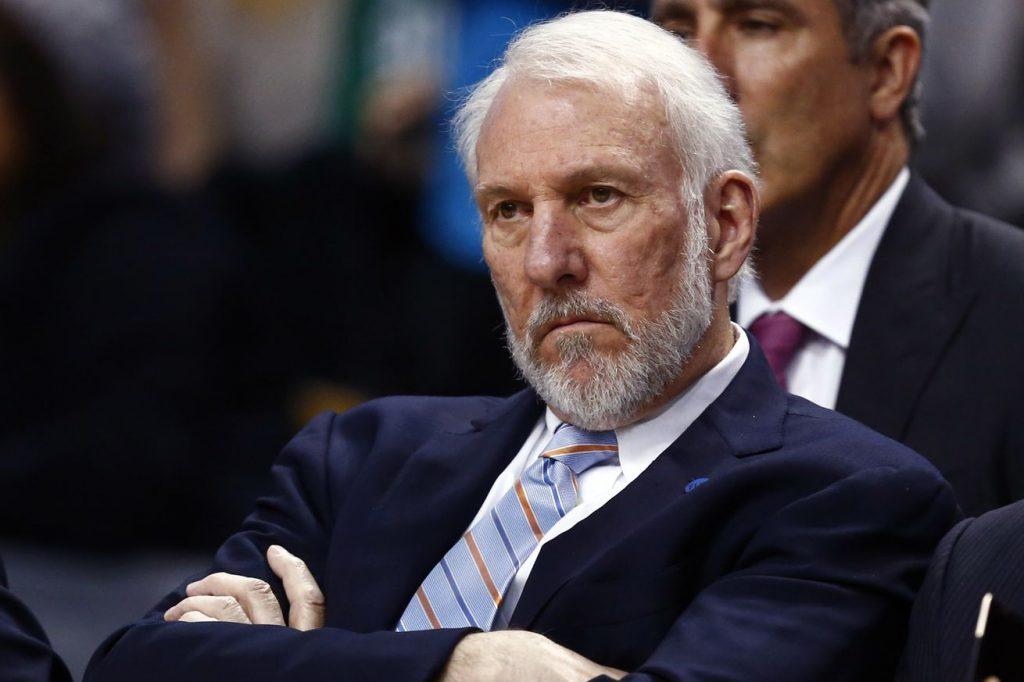 San Antonio Spurs - Gregg Popovich vide son sac sur Donald Trump