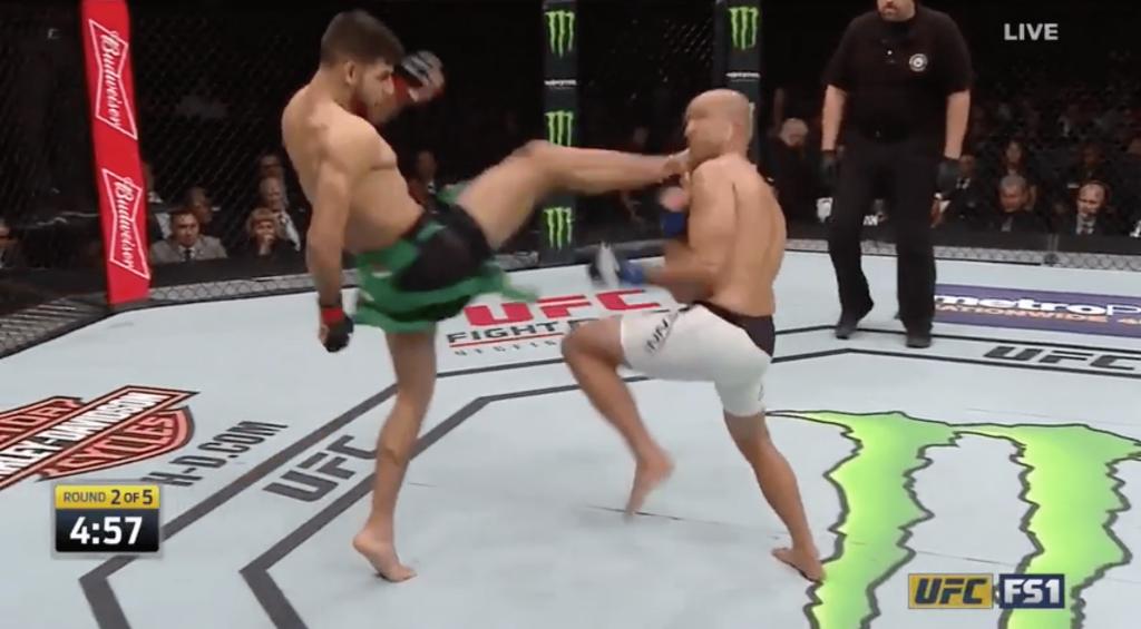 UFC Fight Night 103 - BJ Penn largement dominé par Yair Rodriguez