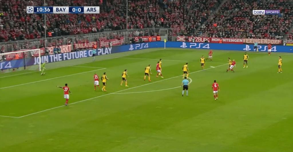 Arjen Robben ouvre le score contre Arsenal sur un bijou