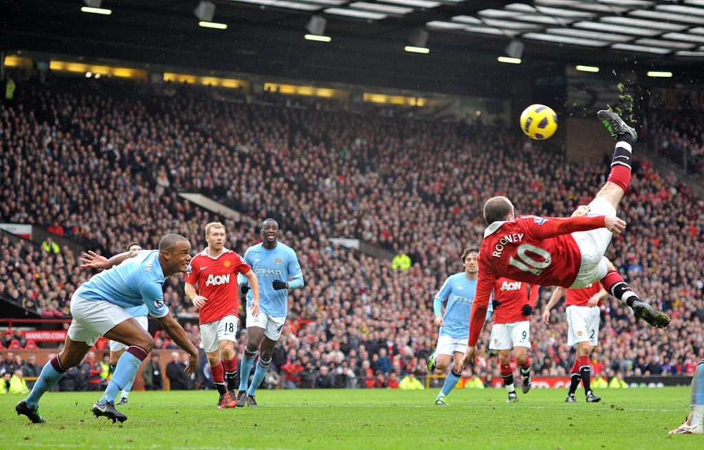 Manchester United vs. Manchester City – le Chef-d'œuvre de Wayne Rooney