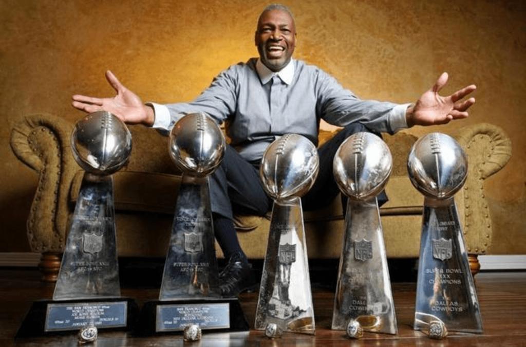 Charles Haley, le premier joueur à avoir remporté 5 Super Bowls