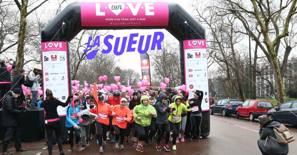 Concours La Sueur x Love Run: 10 dossards à gagner
