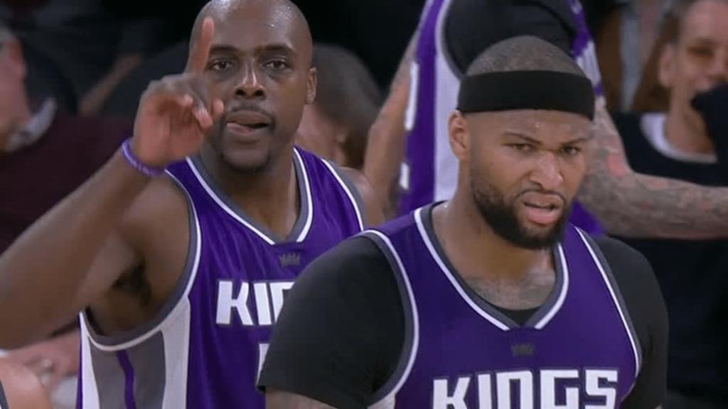 DeMarcus Cousins monstrueux et clutch contre les Lakers