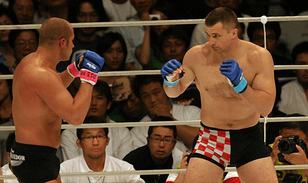 Fedor Emelianenko vs. Mirko Cro Cop – le plus grand combat de MMA de tous les temps