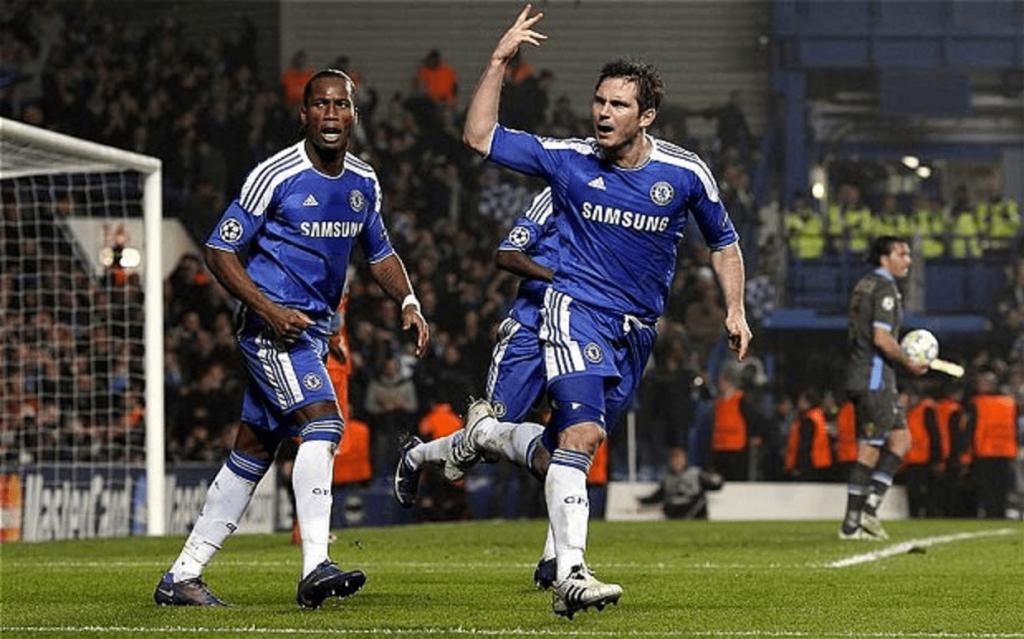 Frank Lampard et l'énorme comeback de Chelsea face au Napoli