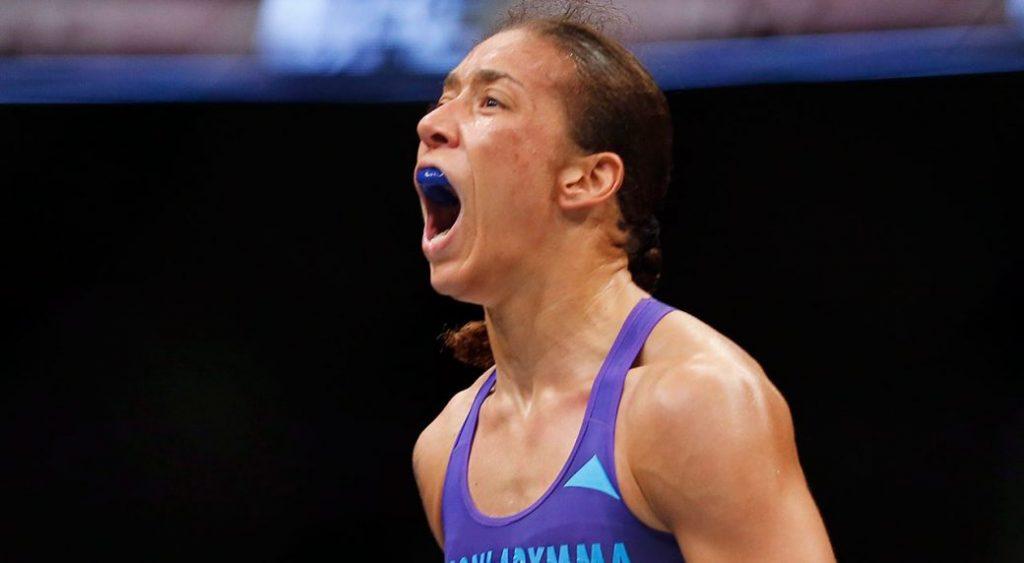 UFC 208 - Quand Germaine de Randamie mettait un type KO en boxe