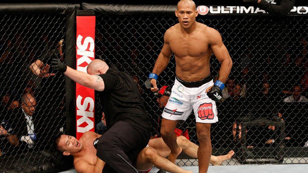 Jacare Souza à l'UFC 208 – le fœtus tueur revient pour un nouveau carnage