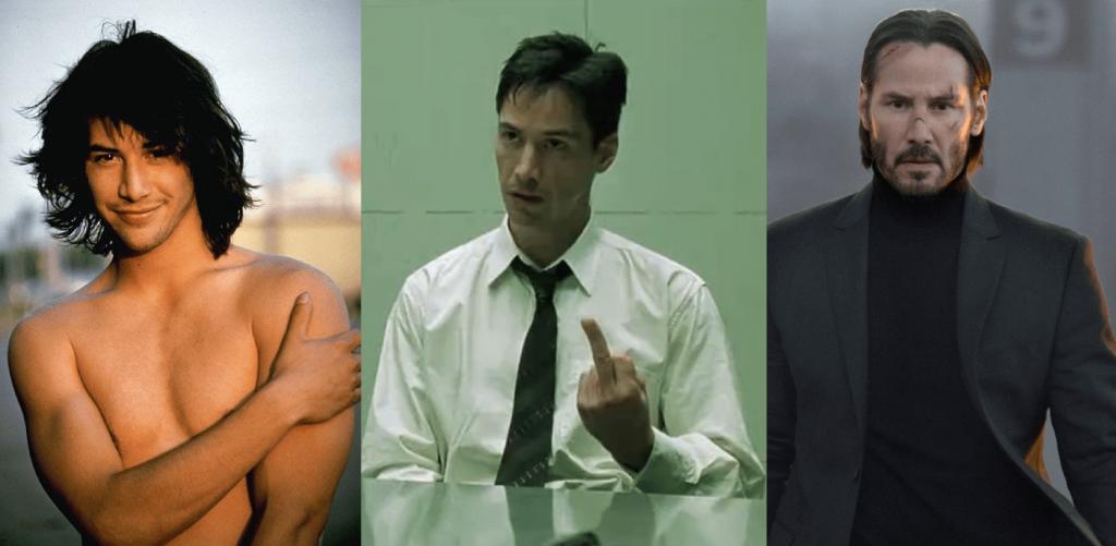Keanu Reeves en 32 ans de carrière – de jeune premier à machine à tuer