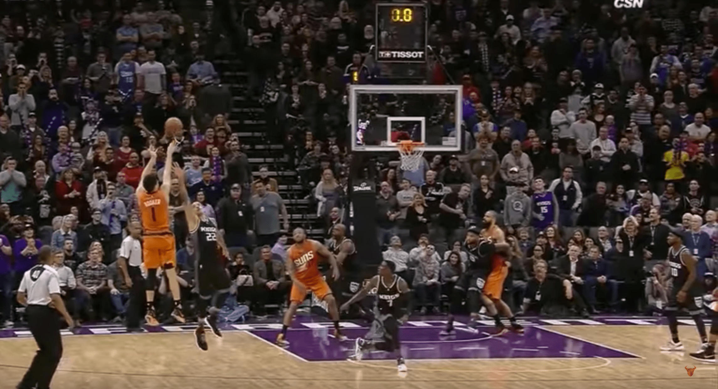 Kings vs. Suns - Devin Booker terrasse les Kings au Buzzer