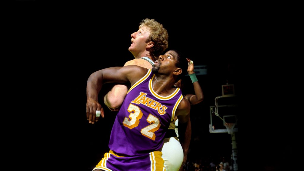 Larry Bird vs Magic Johnson – la rivalité éternelle