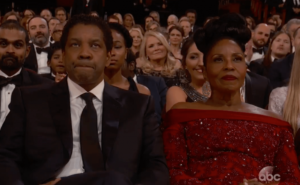 Les larmes de Denzel Washington Casey Affleck