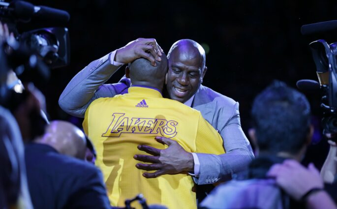 Magic Johnson devient le President des Opérations Basket des Lakers