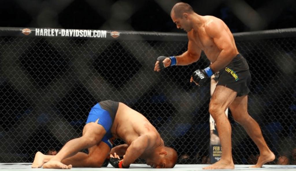 Pour sa première à l'UFC, Marcel Fortuna a fait du sale contre Anthony Hamilton