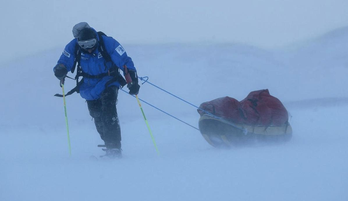 Mike Horn est une légende – premier homme à traverser Antarctique en solitaire