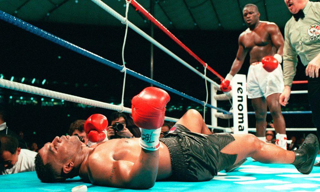 La première défaite en carrière de Mike Tyson face Buster Douglas