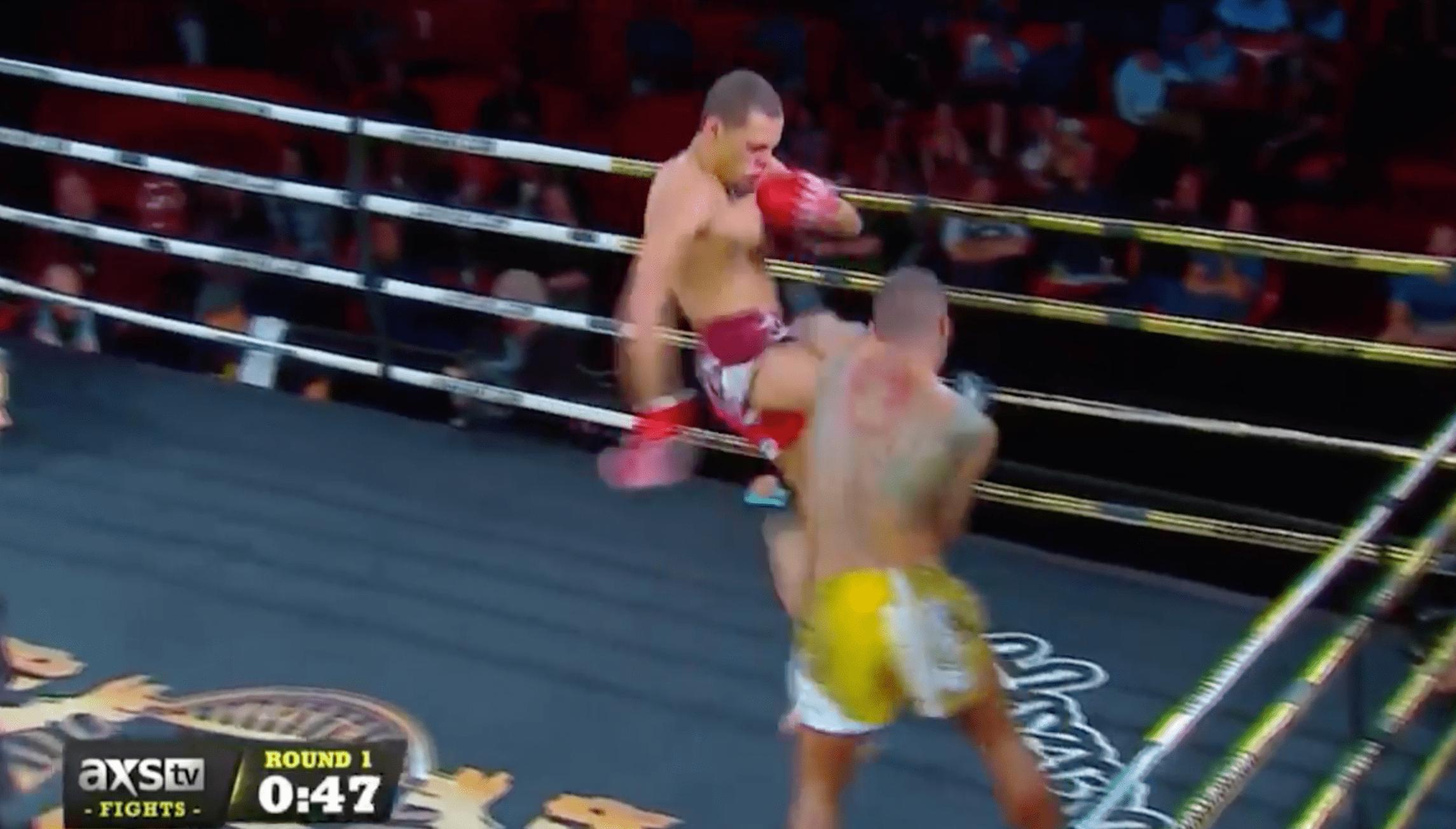 Muay Thai – Regian Eersel envoie DC Pratt au pays des cauchemars avec un genou létal