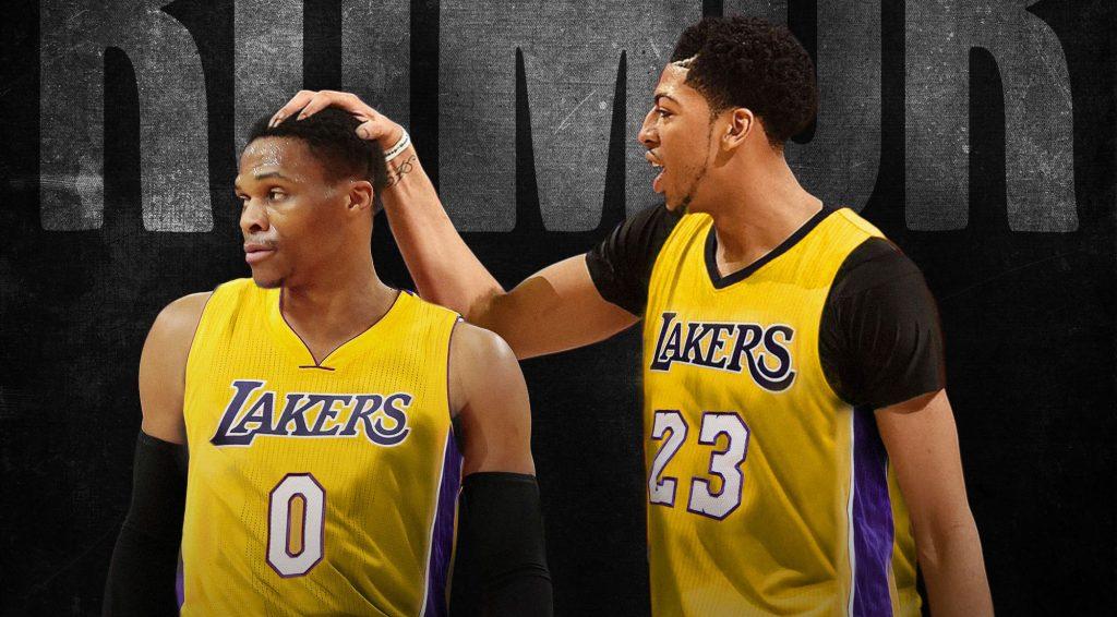 Russell Westbrook et Anthony Davis pourraient se retrouver aux Lakers