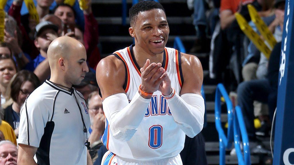 Westbrook envoie le gros triple double contre les Lakers